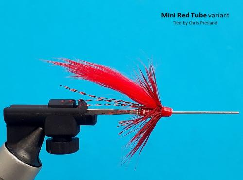Red Shrimp Variant - Mini Tube